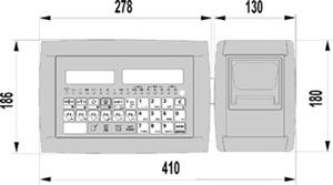 Tpr imprimante thermique en boitier abs et inox for Papier imprimante autocollant exterieur